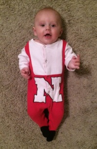 We've got Huskers in the family!