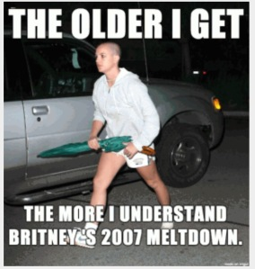 Britney's Big Meltdown