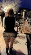Funny stool in Terlingua