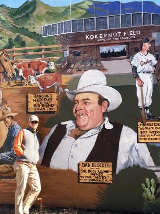 Scott and the Alpine Mural