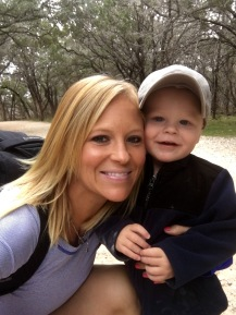 Rex and Mommy Hiking