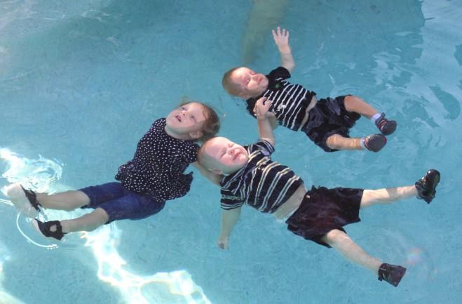 Triple Floaters!