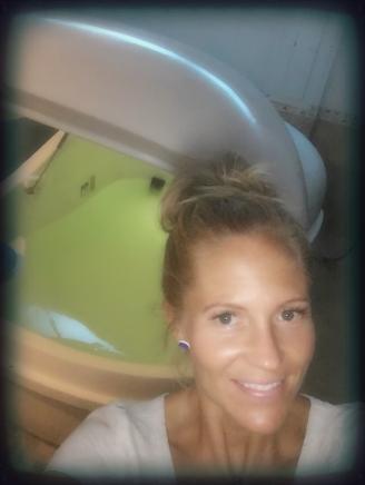 Pre-float selfie