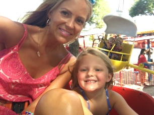 Riding Rides with Mommy!